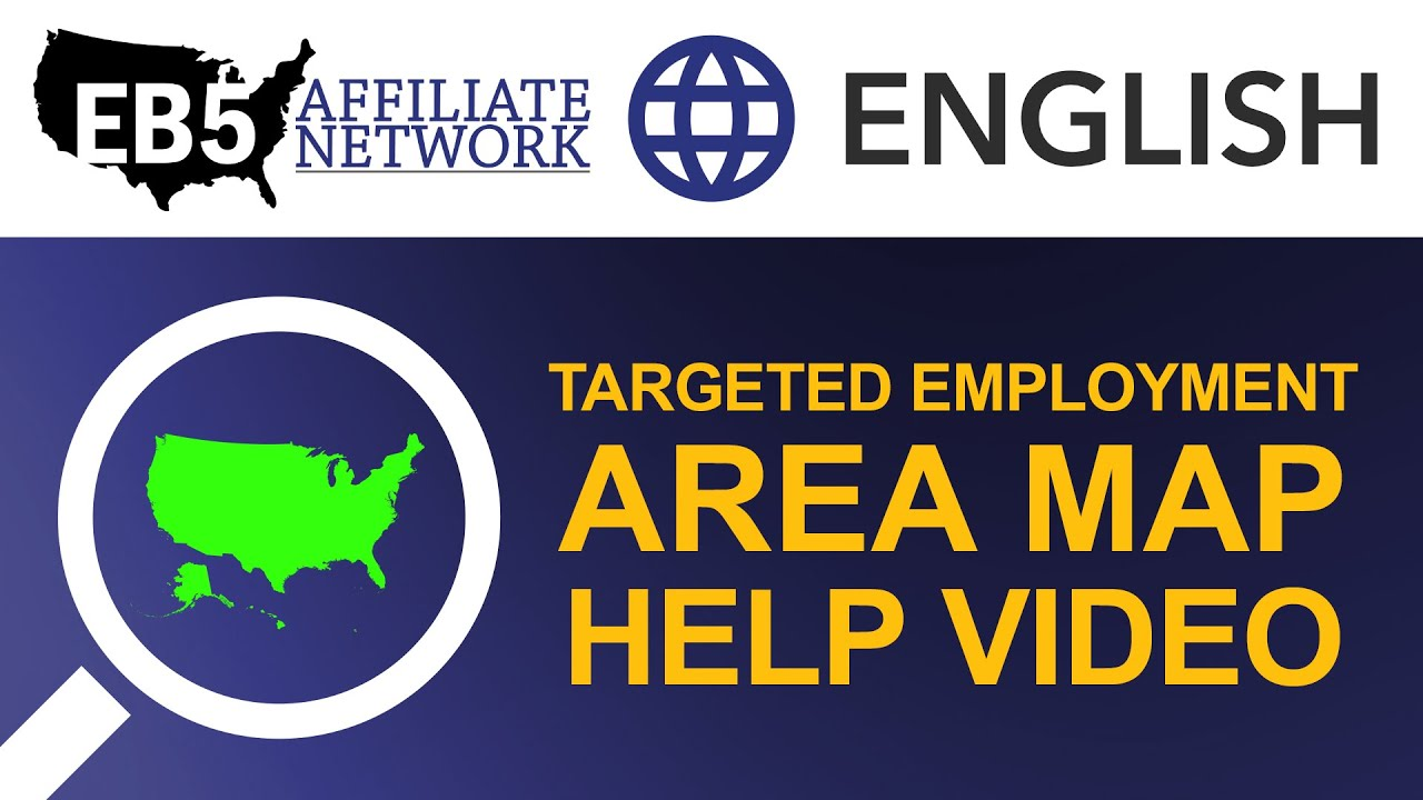 EB Targeted Employment Area TEA Map Help Video Combine Census - Free us map by mail