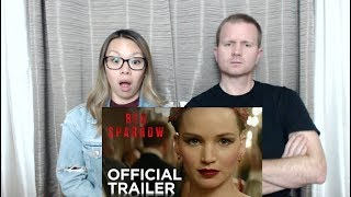 Red Sparrow Official Trailer Reaction and Review