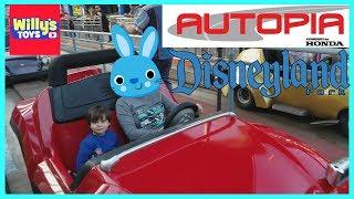 Full Tour of Disneyland Autopia at Disneyland California - Powered by Honda - Willy