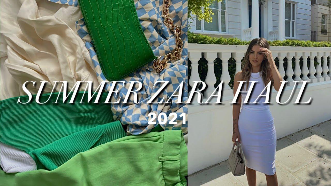 Download Huge Summer ZARA Try On Haul 2021