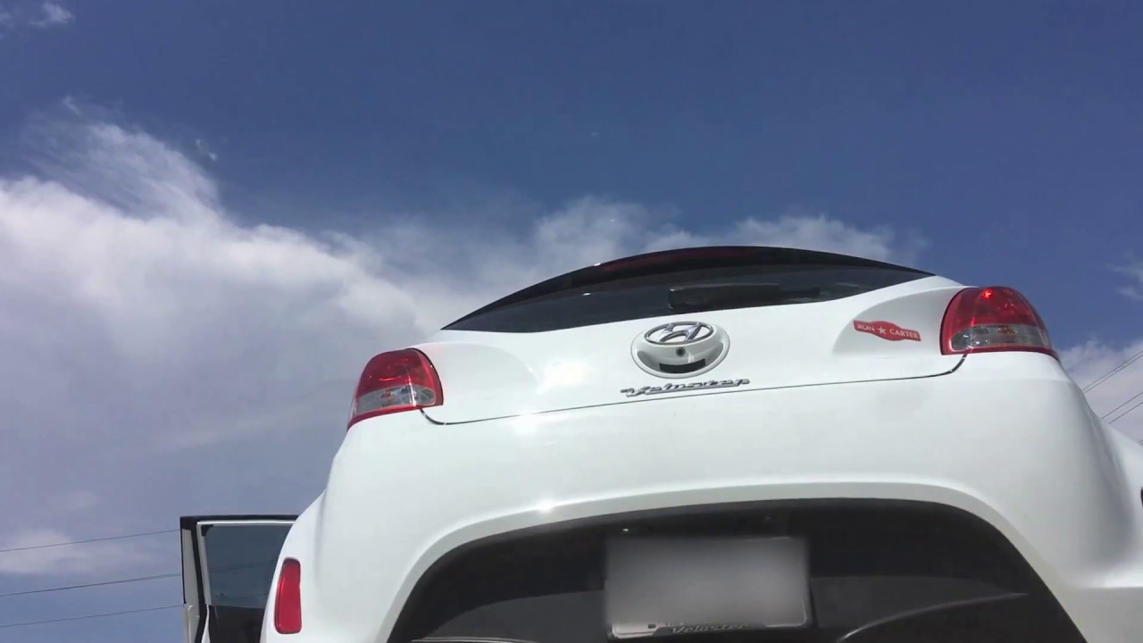 2015 Hyundai Veloster N/A Intake, Header, Catback Exhaust Rev 2