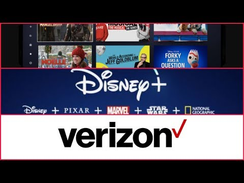 Disney + For 1 Year With Verizon Walk Through!
