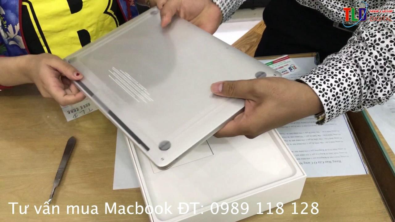 Bạn Gái Mở hộp Mabook Pro retina 13 INCH 2017