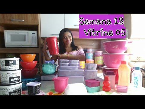Abrindo Caixa Tupperware Semana 18 Vitrine 05 Youtube