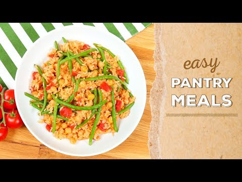 3 EASY Pantry Meals   Dinner Made Easy