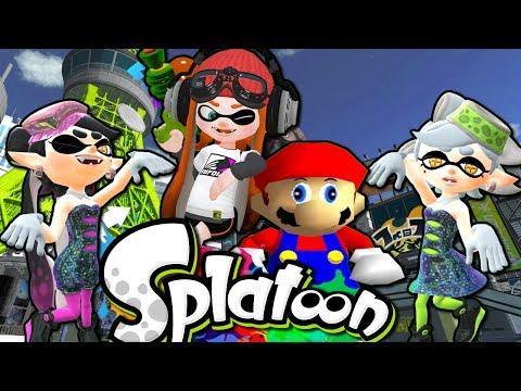 If Mario Was In... Splatoon