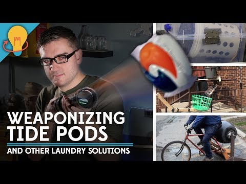 Weaponizing Tide Pods and Other Unique Laundry Solutions | Upcycle