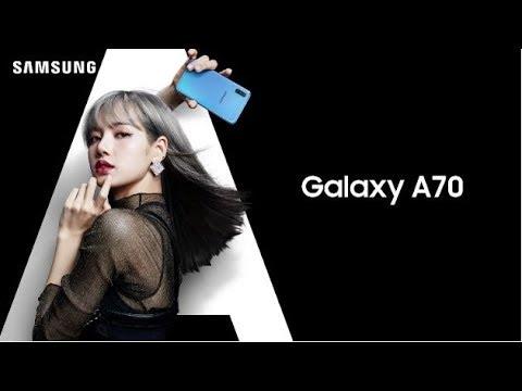 The New Galaxy A70 X BLACKPINK