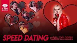 Ava Max Speed Dates With Lucky Fans! | Speed Dating