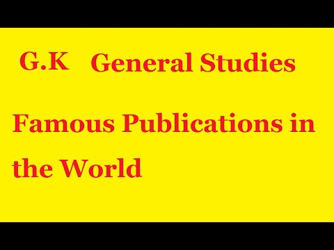 RRB Exam Date 2016 | Famous Publications in the World | Where is the Newyork Times Publications?