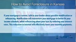 How to stop foreclosure in Kansas