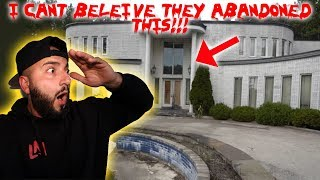 THE ABANDONED FORTNITE MANSION IN REAL LIFE!! *NO ONE KNOWS ABOUT THIS PLACE* | MOE SARGI