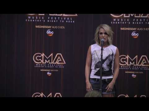 Carrie Underwood Reveals Why Her 'Church Bells' Video is Concert Footage