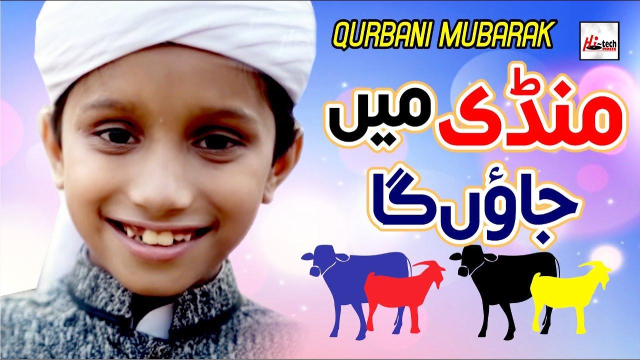 Qurbani Mubarak (Bakra Eid) | Mandi Mein Jaon Ga | Eid Al Adha & Hajj Mubarak | Hi-Tech Islamic
