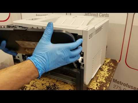 HP LaserJet P3010 P3015 Maintenance Kit CE525-67901 Maintenance Kit Replacement Instructions