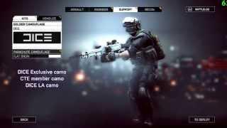 DICE Exclusive camo / weapon paint [CTE] BATTLEFIELD 4