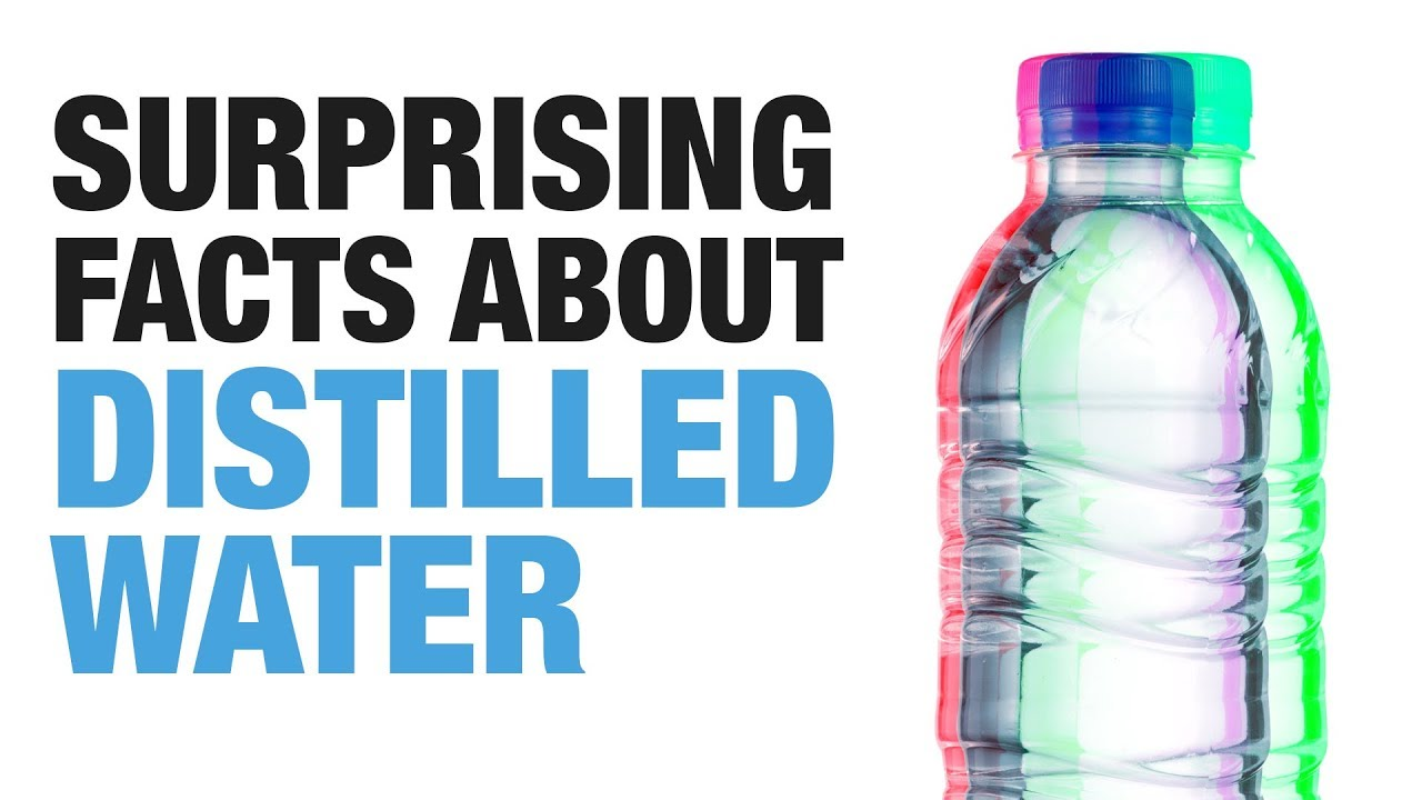 5 Reasons to Never Drink Distilled Water [INFOGRAPHIC