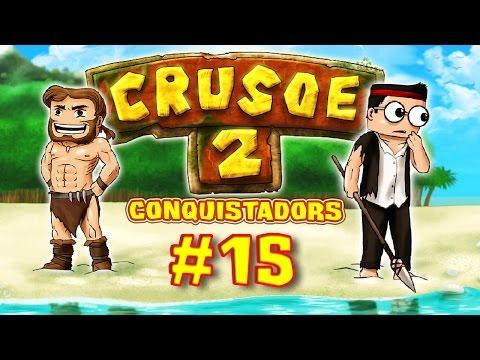 CRUSOE 2 - Ep. 15 - Au Café des Sports - Fanta et Bob dans Minecraft