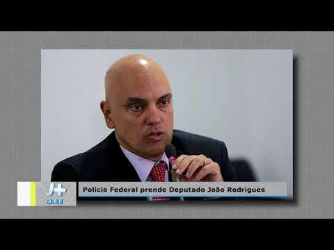 Matéria prisão deputado João Rodrigues