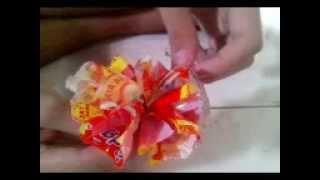 Kerajinan Tangan - Membuat Bunga dari Bungkus Mie Instant