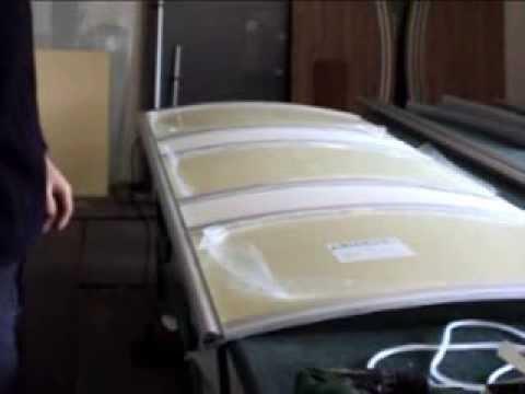 Радиусные двери купе - YouTube
