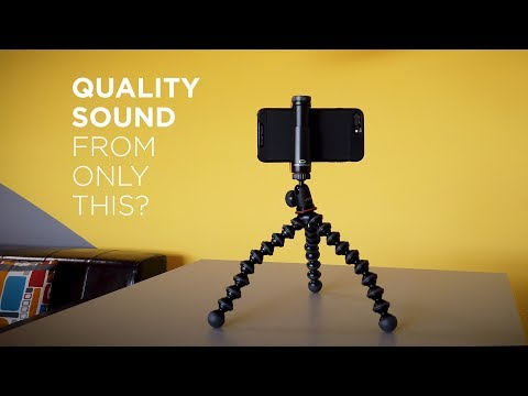 Record Good Sound with ONLY Filmic Pro and a Camera Mic