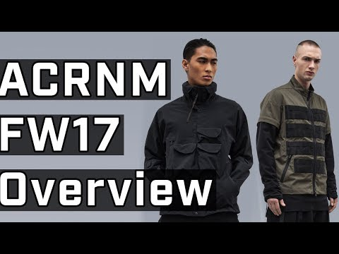 Acronym FW17 Full Collection Overview + Impressions