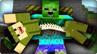 Моего друга поймали [ЧАСТЬ 51] Зомби апокалипсис в майнкрафт! - (Minecraft - Сериал)