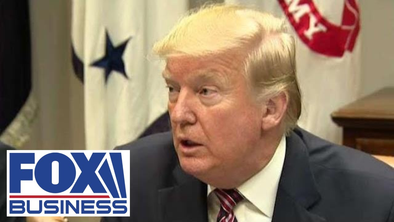 President Trump touts November's blowout job report