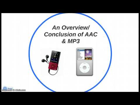 MP3 vs AAC