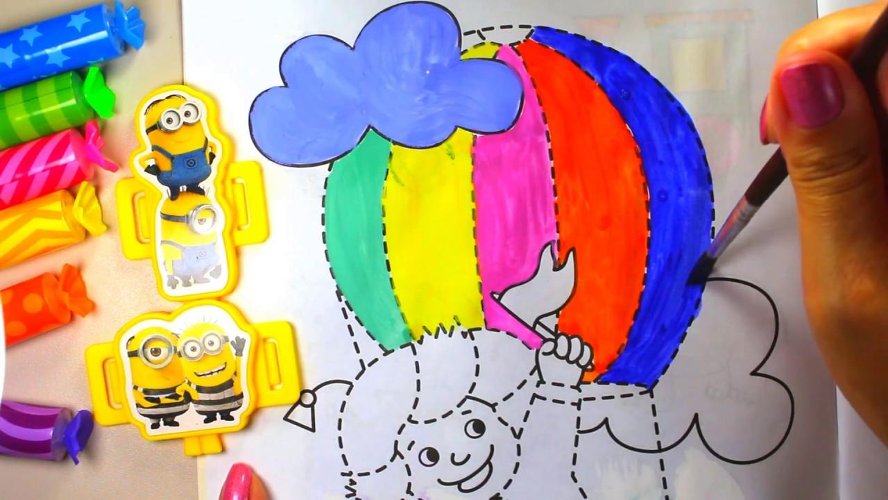 Cómo dibujar globo de aire caliente | Globo de aire caliente para ...