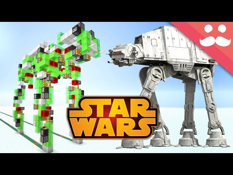 Walking AT-AT From STAR WARS in Minecraft!