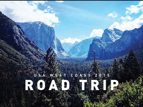USA West Coast Road Trip California - GoPro Hero 4 Black