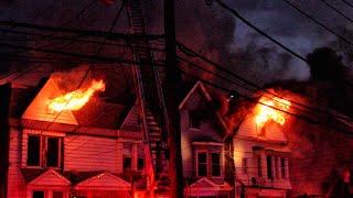 Newark Fire Department 3+ Alarm 3 House Fire Mt Prospect Ave 3-18-19