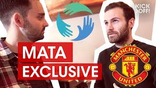 How Mata, Schmeichel & Kagawa Want to Change the World | Common Goal Initiative