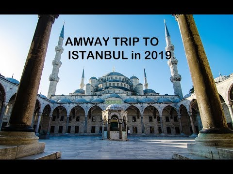 Amway India trip to Istanbul in 2019