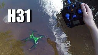 JJRC H31 IS Waterproof!