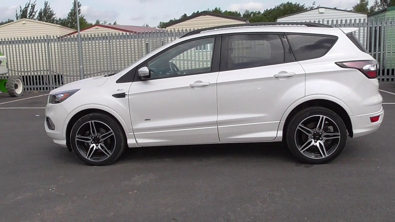 ford kuga st line tdci 4x4 u61674 youtube. Black Bedroom Furniture Sets. Home Design Ideas