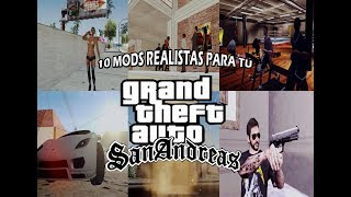 PACK DE 10 MODS REALISTAS PARA GTA: SAN ANDREAS (Mediafire) (PC)