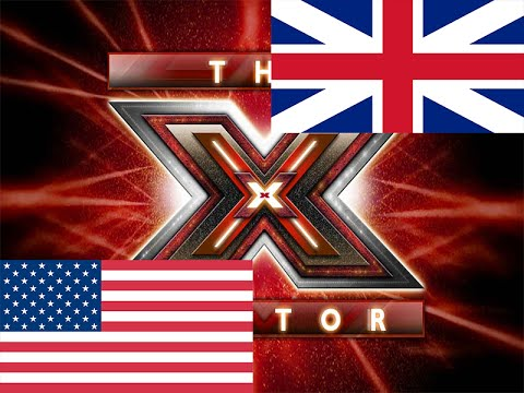 X Factor USA vs UK | The best ones !