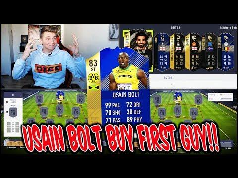 Heftige USAIN BOLT Buy First Guy Discard CHALLENGE! 🔥😱 Fifa 18 Ultimate Team Deutsch