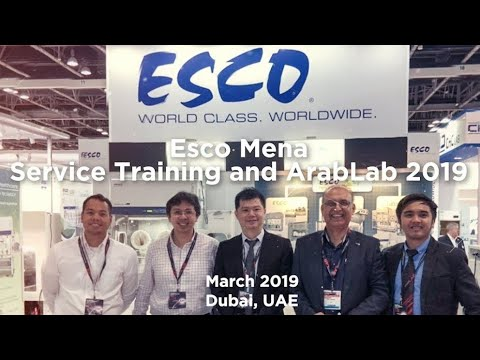 Esco Mena - Service Training And ArabLab 2019