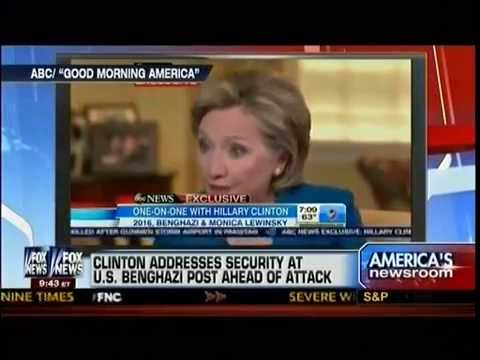 Hillary Clinton Addresses Security At U.S. Benghazi Post Ahead Of Attack - America's Newsroom