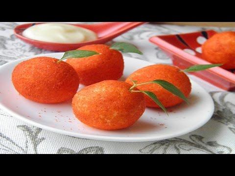Рецепт Салат из помидоров с чесноком и сыром на