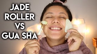 WHAT IS A JADE ROLLER/GUA SHA + How to use