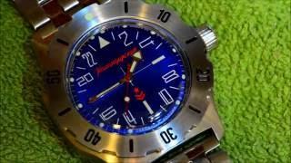 Vostok 350642 Komandirskie 24 hour watch