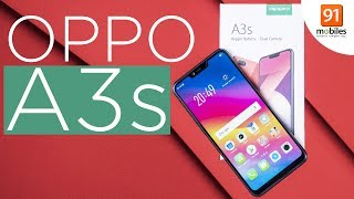 OPPO A3s: Unboxing & First Look | Hands on | Price [Hindi हिन्दी]