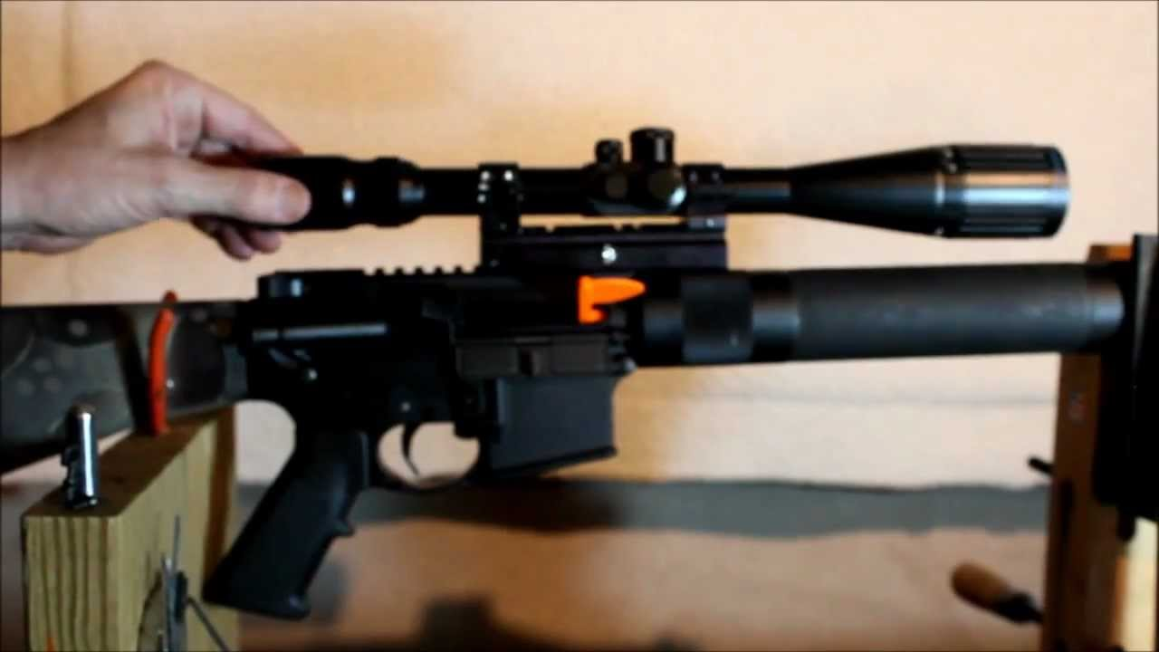 Ar 15 Make Your Scope Fit You Youtube