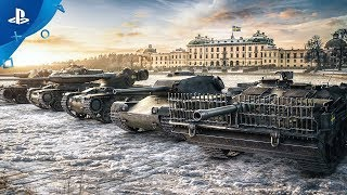 World of Tanks  The Swedish Have Arrived  PS4 Check out the trailer showcasing the Swedish arrival on console led by the Primo Victoria inspired by Swedens Heavy Metal band Sabaton Take command of ...
