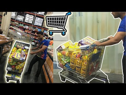WHEN MEN GO FOR GROCERY SHOPPING ( HOW TO DO SHOPPING REALLY FAST)